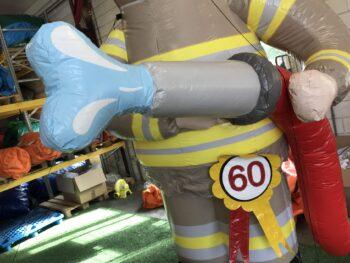 opblaasbare brandweerman