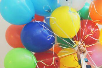 checklist surprise party ballonnen