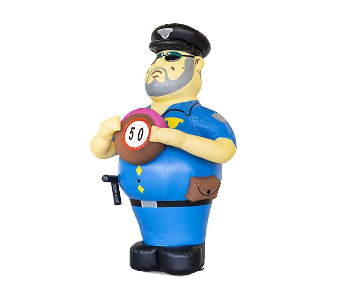 opblaaspop politieagent hurwen