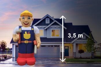 Abraham pop bouwvakker
