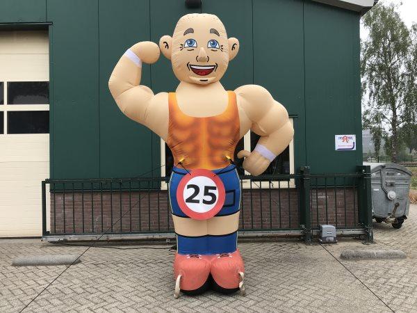 Abraham pop sportschool 25 jaar