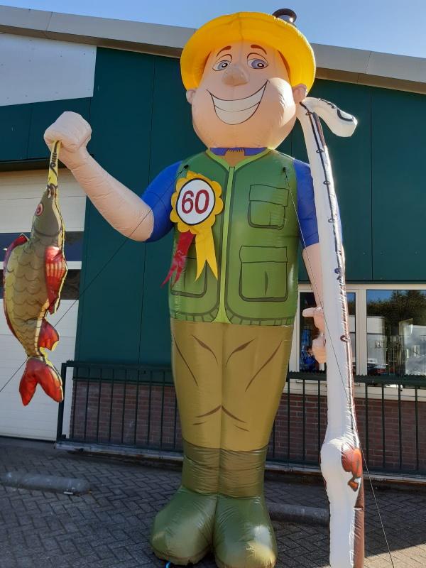 Abraham pop visser voor 60 jarige