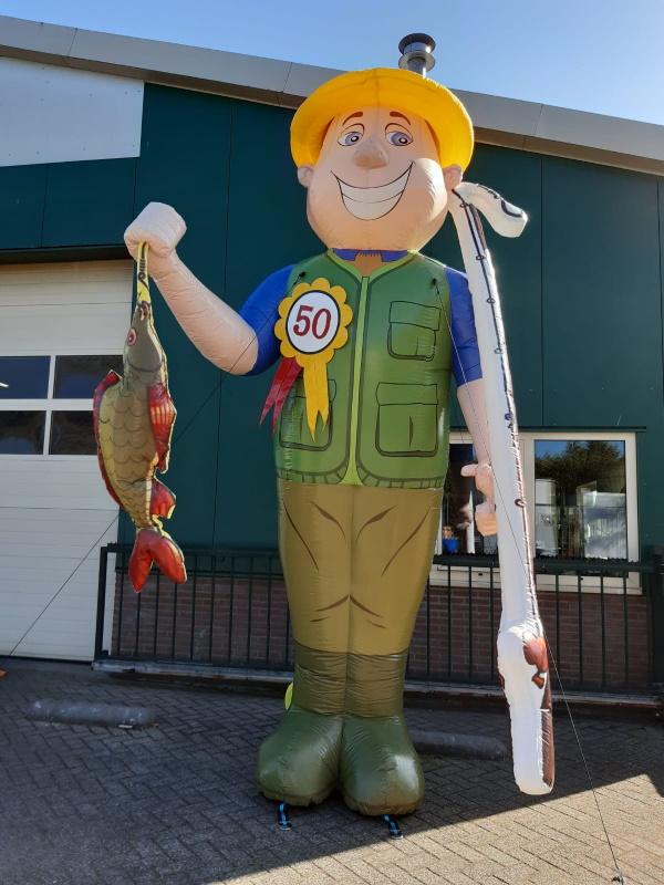 Abraham pop visser 50 jaar oud abraham