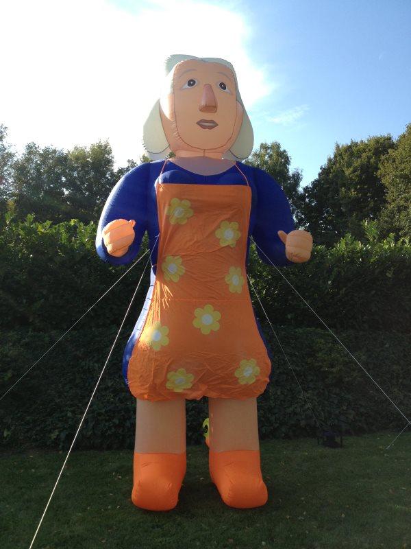 Sarah SensationAir van 4,5 meter hoog