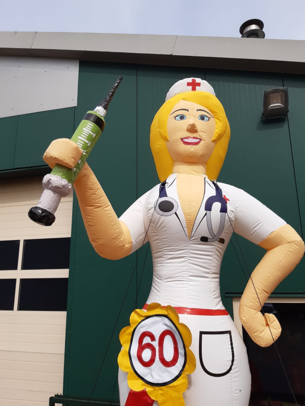 Sarah verpleegster 60 jaar