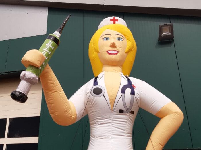 Sarah Pop verpleegkundige 50 jaar