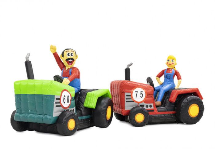 sarah en abraham pop op tractor