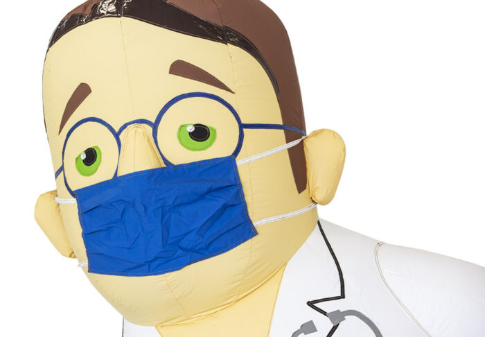 opblaaspop abraham dokter