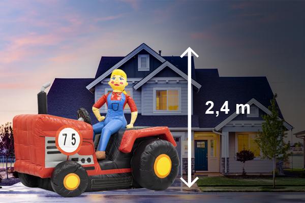 sarah pop boerin op tractor huren
