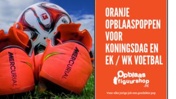 Oranje Opblaaspoppen