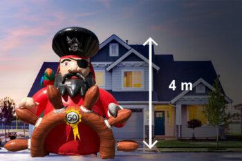 abraham pop piraat huren
