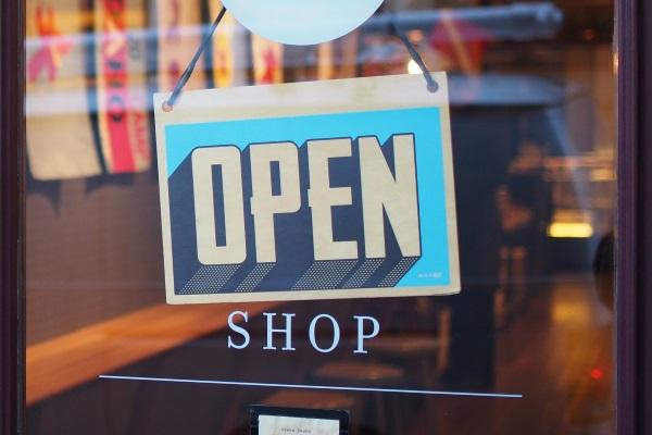 nieuwe winkel open