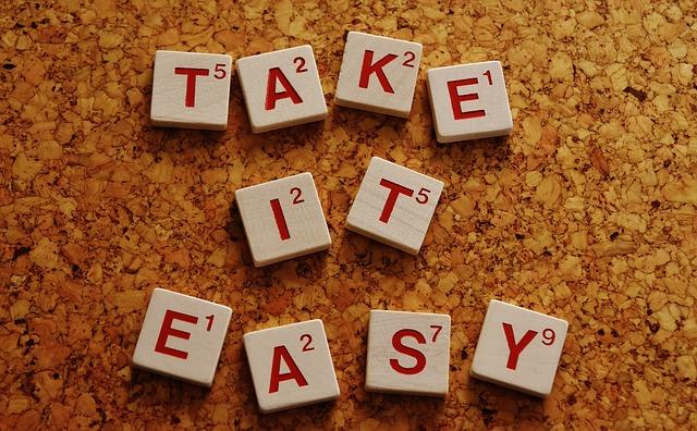 Maak het jezelf gemakkelijk