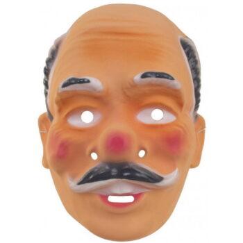 abraham masker oud met siersnor