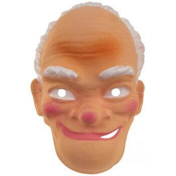 abraham masker oud met wit haar
