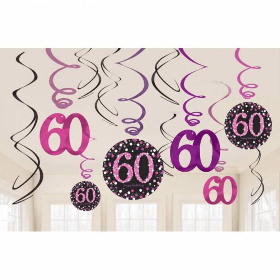 stijlvolle slinger voor 60 jaar verjaardag