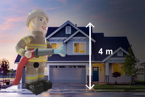 Sarah pop brandweervrouw